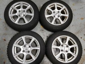 2011-2018 Ford Fiesta Blizzak WS70 Snow Tires on Rims + Extras