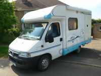 2004 ACE Novella Capri 2 Berth Coachbuilt Motorhome with End Kitchen