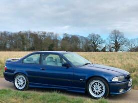 1998 [S] BMW 328i M SPORT 2.8 PETROL MANUAL E36 COUPE AVUS BLUE