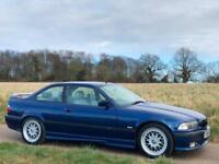 1998 [S] BMW 328i M SPORT 2.8 PETROL MANUAL E36 COUPE AVUS BLUE