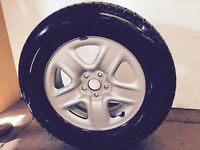 Toyota Venza Winter Tires size 2456517 with rims