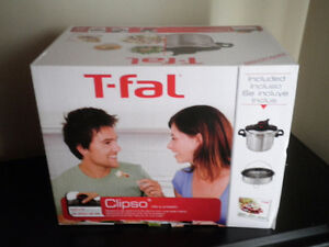 T-fal Clipso 6.3 qt Pressure Cooker - Brand New/Never Used!