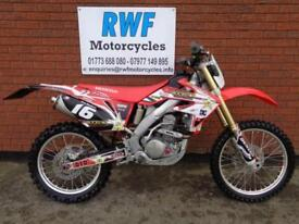 HONDA CRF 250 X, 2015 MODEL, 64, EXCELLENT COND, ONLY 2 OWNERS, 12 MONTHS MOT