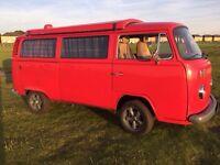 VW Type 2 T2 Late Bay Devon Poptop
