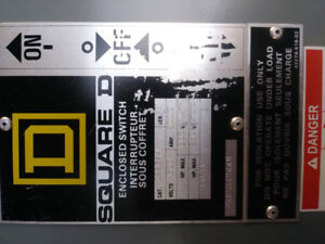 New (never been used) 3 way transfer switch