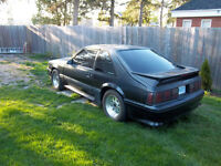 1987 ford mustang gt,5 speed,5litre roller motor.runs great