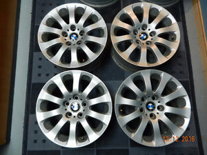 "BMW OEM genuine rims 17x8"" ET34 for 3 series style 159 for E90+"