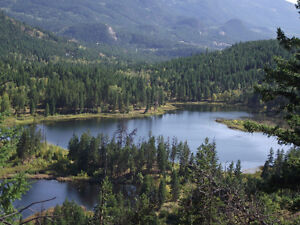 Barriere, BC - 77 acres with Lake