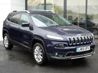 2015 Jeep Cherokee 2.0 CRD Limited 4WD 5dr