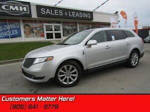 2013 Lincoln MKT EcoBoost   AWD, NAVIGATION, GLASS TOP, CAMERA,