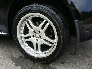 """OEM Mercedes-Benz 20"""" Hyper Silver wheels with new tires"""