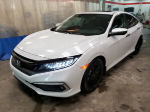 2019 CIVIC TOURING WHITE EMPLOYEE PRICE LEASE TAKE OVER