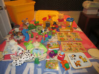 Jouets casse-tete bois Fisher Price Leap Frog Ourson Winnie