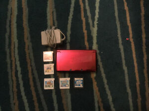 NINTENDO 3DS, includes 5 games! $200!