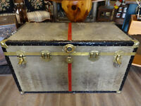 Vintage Steamer Trunk at The Old Attic