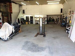 Porte de garage avec Lift sous terre