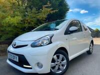 2013,13 TOYOTA AYGO 1.0 VVT-I Fire 3dr (AC)62000 MILES FULL SERVICE HISTORY