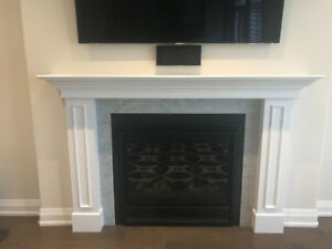Modern Fireplace Mantle Brand New