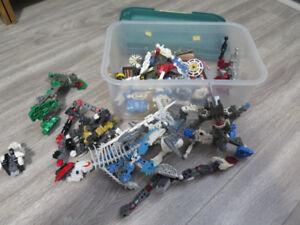 Lot de Lego mélangé Bionicle