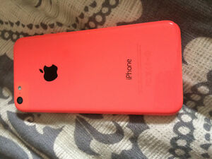 iPhone 5c coral/pink