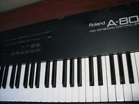 88 key Midi keyboard w real piano action & polyphonic aftertouch