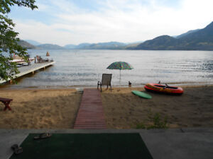 Penticton - Skaha Lake Beachfront Cottage - July 14-21 available