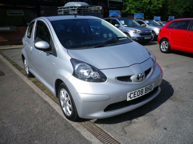 2008 toyota aygo 1 0 vvt i aygo platinum full service history top spec in risca newport. Black Bedroom Furniture Sets. Home Design Ideas