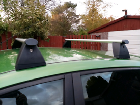 Ford fiesta mk6 roof bars SOLD