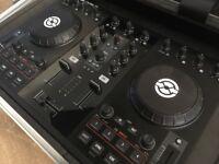 Traktor Kontrol S2 Professional DJ controller fully flight cased as new
