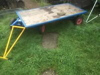 Garden trolley cart 2mtrL 1 Mtr W 1 ton