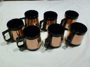 Coppercraft Guild Copper Insulated Coffee Mug Cup Thermos