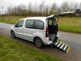 2013 Peugeot Partner Horizon 1.6 Hdi WHEELCHAIR DISABLED ACCESSIBLE ADAPTED WAV