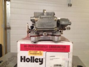 New Holley Maine 4-bbl Carburater