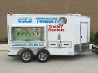 Event Trailer- Cooler Trailer, Beer on Tap!