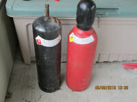 50 cu ft oxygen and B tank acetylene