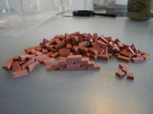 Objets miniatures minies imitation de brique pour construire