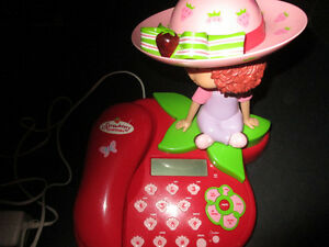 Strawberry Shortcake phone working condition