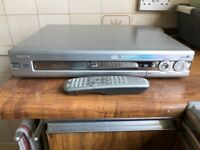 Philips Recordable DVD player.