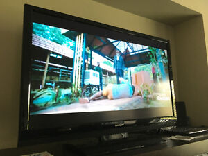 Sharp 46in HD 1080P TV Great Condition, Must GO, Best Offer