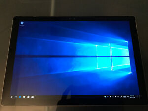 """Surface Pro 4_12.3""""_touch_i5 cpu_128 gb ssd_4gb ram_""""Win 10 Pro"""""""