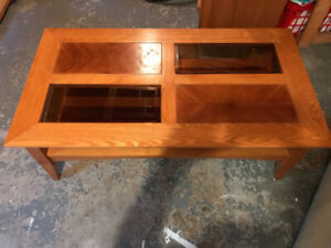Coffee and End Table $35