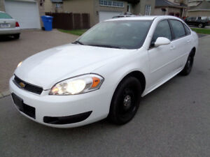 2012 Chevrolet Impala POLICE PACKAGE Sedan 4000+TAX!