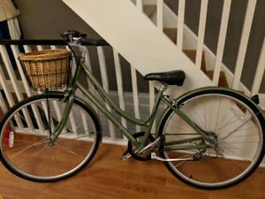 Womens Cruiser Bike with Basket