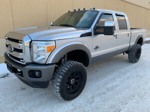 2012 FORD F-350 LARIAT CREW CAB 4X4 DIESEL ! MUST SEE ! DEAL !