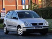 Volkswagen Polo 1.2 2004 Twist + 1 FAMILY OWNER + FULL SERVICE HISTORY