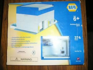 NAPA AUTO PARTS BUILDING BLOCKS COMPLETE SET w/ BOX