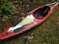 Dagger white water Kayak
