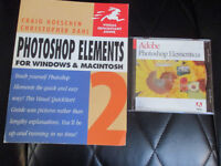 Adobe Photoshop Elements 2.0 and Guide Book.