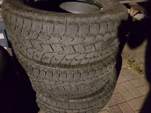 3 Toyo Open Country 265/70/17 Truck tires with 60% tread