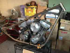 Harley 6 spd rigid Evo project  $4500